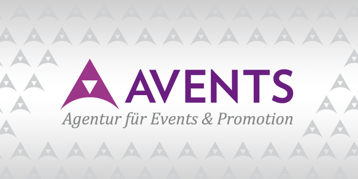 Logo // Avents Agentur für Events & Promotion